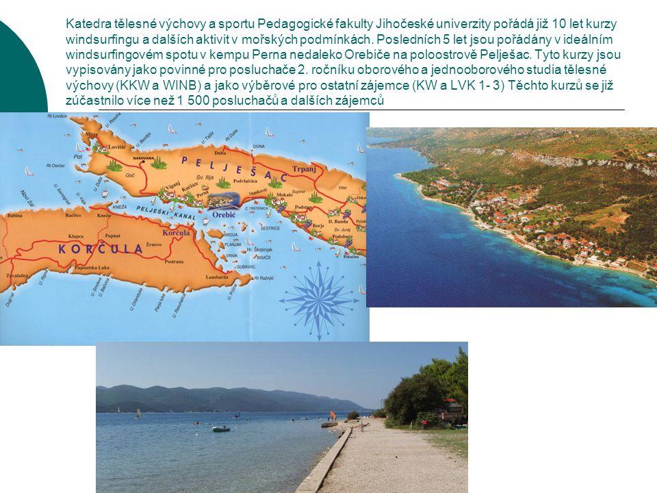 Kemp Perna u letoviska Orebič leží severozápadní části Pelješace přímo naproti krásnému starobylému městu Korčula.