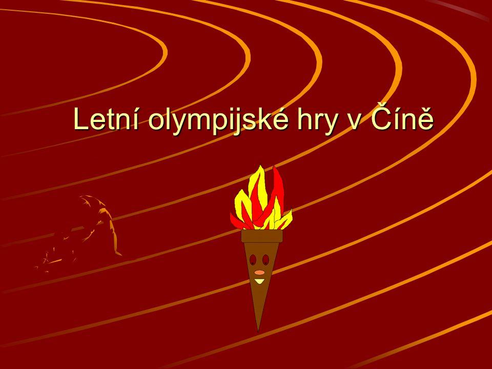 Letní olympijské hry v Číně