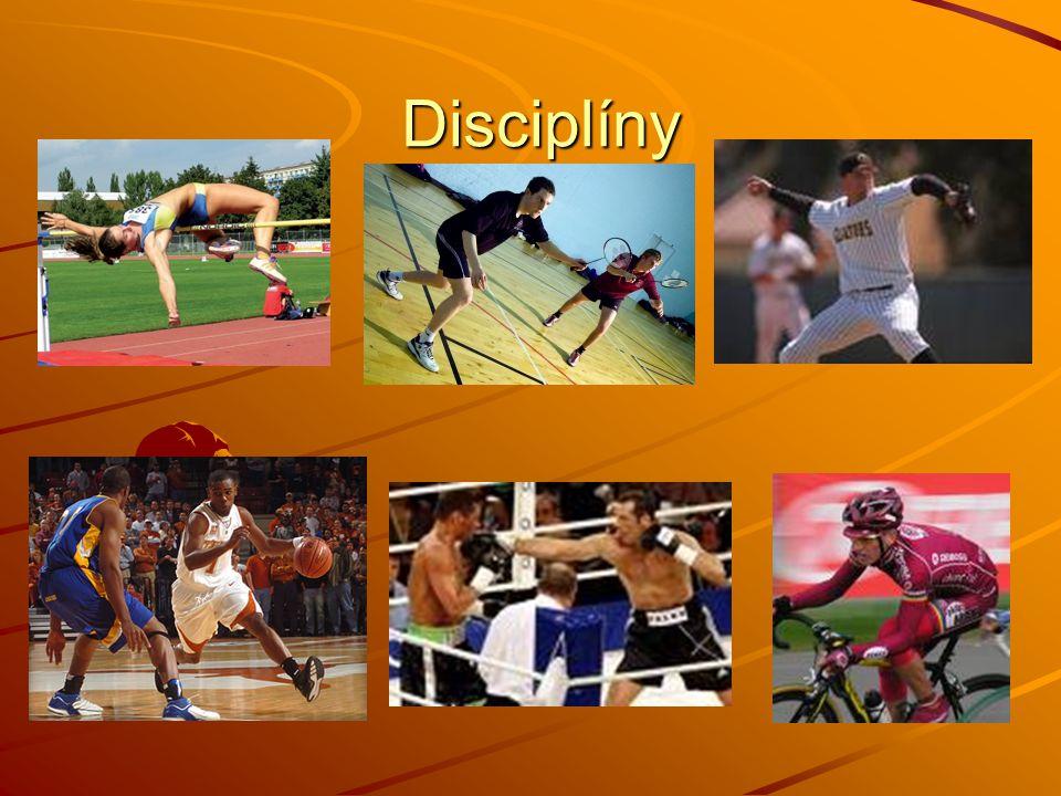 Disciplíny