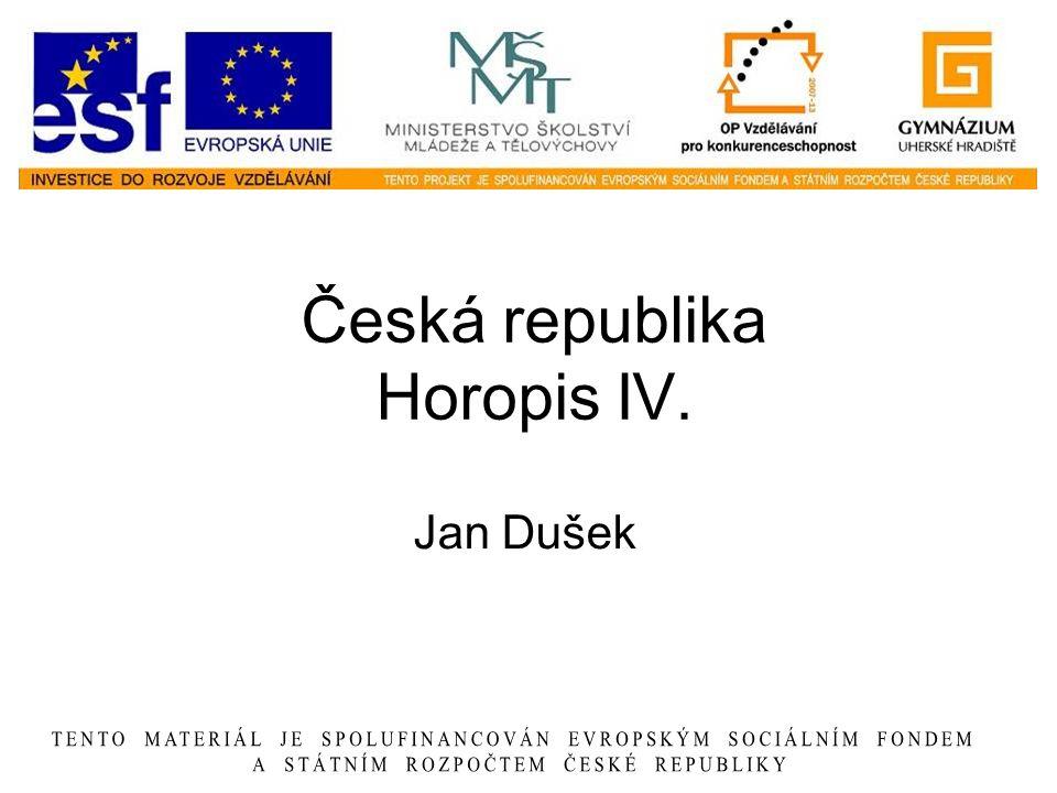 Česká republika Horopis IV. Jan Dušek
