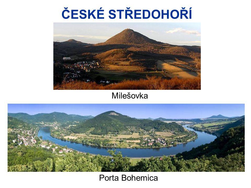 ČESKÉ STŘEDOHOŘÍ Porta Bohemica Milešovka