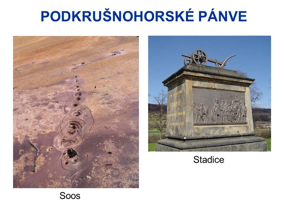 PODKRUŠNOHORSKÉ PÁNVE Stadice Soos