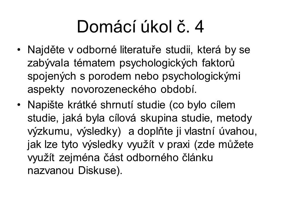 Domácí úkol č.