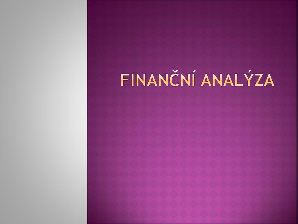  ukazatele rentability a produktivity  ukazatele zadluženosti (kapitálové struktury)  ukazatele likvidity a cash-flow  ostatní ukazatele