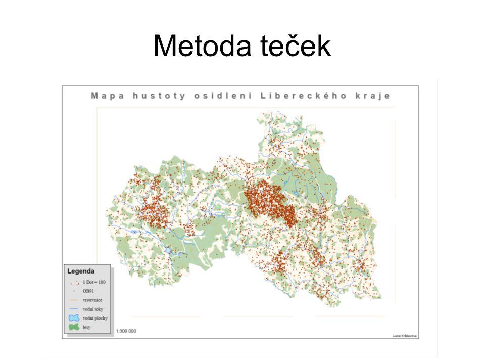 Bázová mapa – reliéf stínovaný reliéf