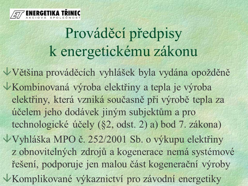 Cenové výměry ERÚ âCenovým rozhodnutím ERÚ č.