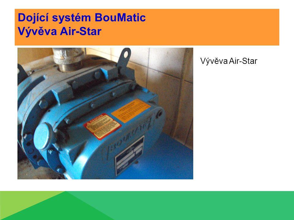 Dojící systém BouMatic Vývěva Air-Star Vývěva Air-Star