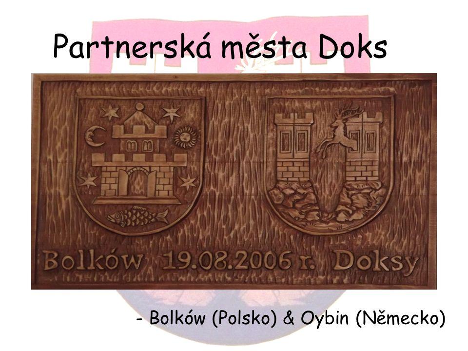 Partnerská města Doks - Bolków (Polsko) & Oybin (Německo)