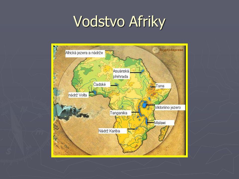 SP: Vodstvo A/ Napiš název největších afrických vodopádů.