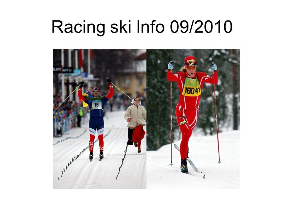 Racing ski Info 09/2010