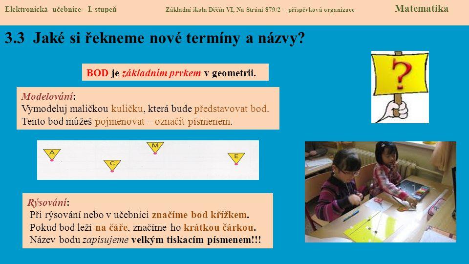Elektronická učebnice - I.