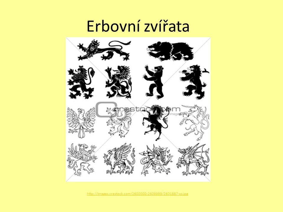 Erbovní zvířata http://images.crestock.com/2600000-2609999/2601887-xs.jpg