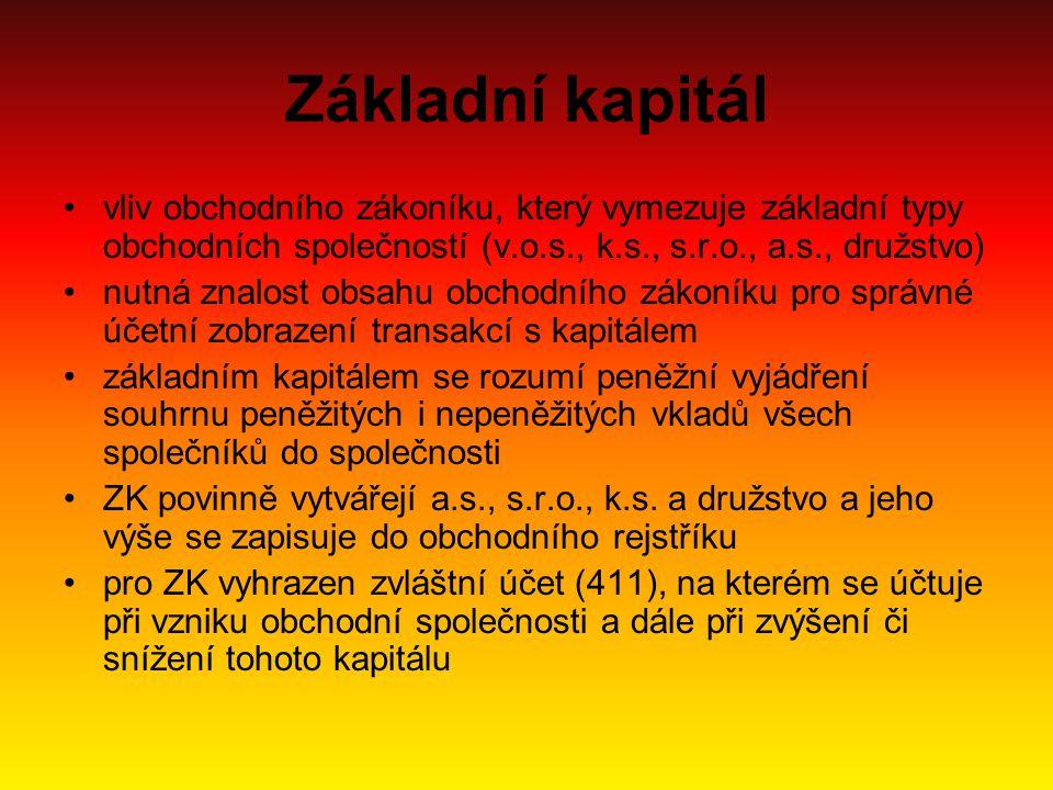 Založení podniku akciová společnost: –založena jedním zakladatelem (právnická osoba) nebo dvěma a více zakladateli –ZK min.