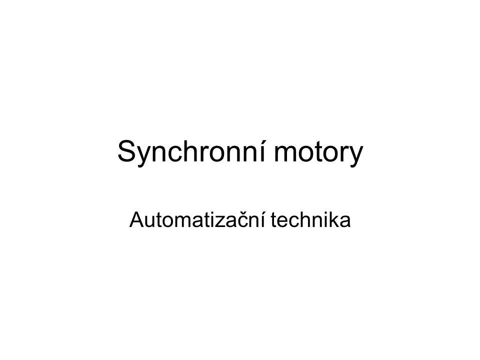 Synchronní motory Automatizační technika