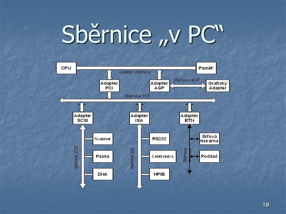 """19 Sběrnice """"v PC"""""""