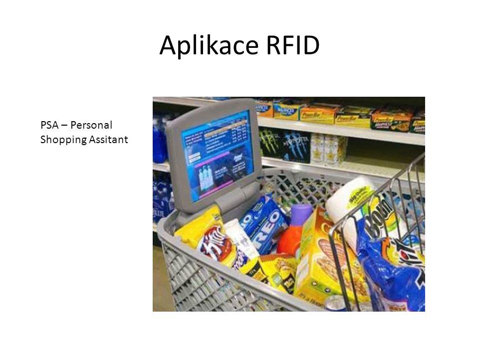 Aplikace RFID PSA – Personal Shopping Assitant
