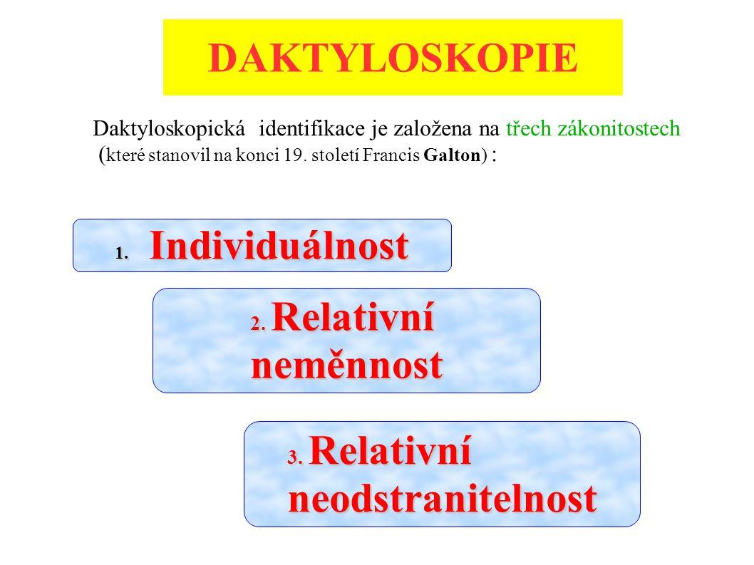 DAKTYLOSKOPICKÉ SBÍRKY (čl.175 – 179 ZPPP č.