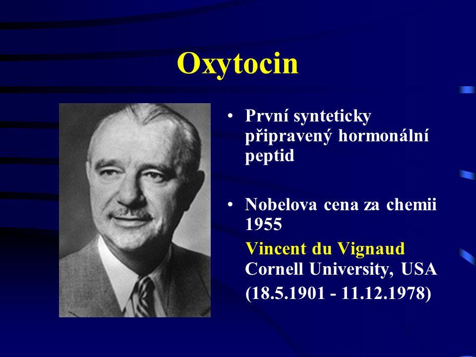 oxytocin a arginin-vasopresin Cys-Tyr-Ile-Glu-Asp-Cys-Pro-Leu-Gly-NH 2 Cys-Tyr-Phe-Glu-Asp-Cys-Pro-Arg-Gly-NH 2