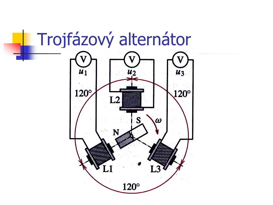 Trojfázový alternátor