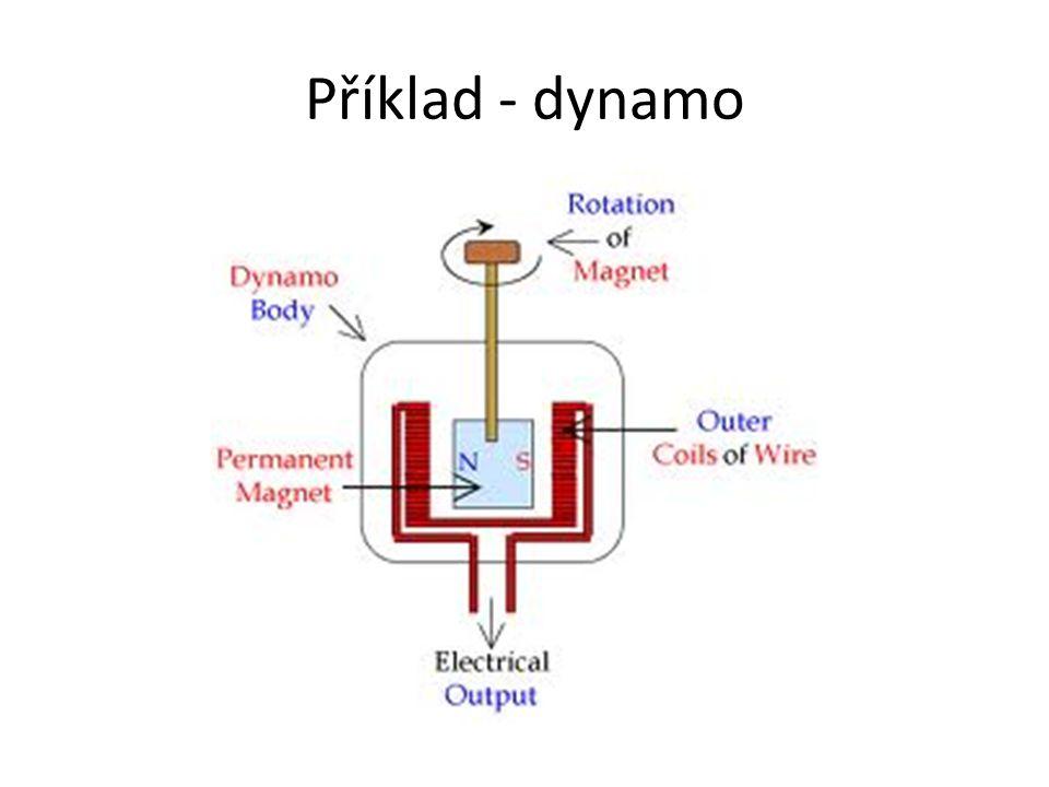 Příklad - dynamo