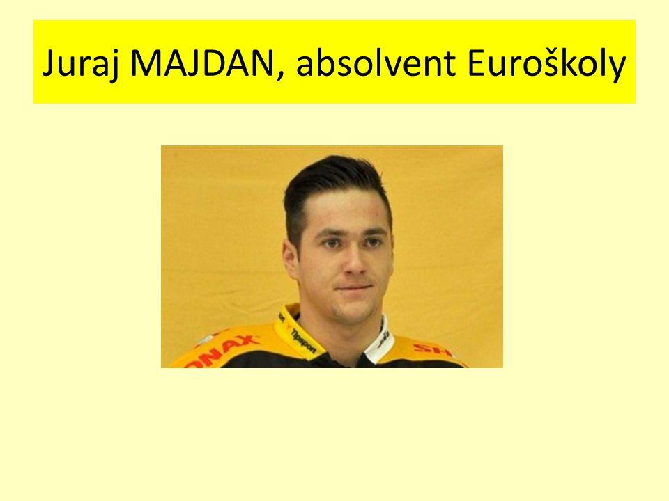 Petr Kousalík, absolvent Euroškoly