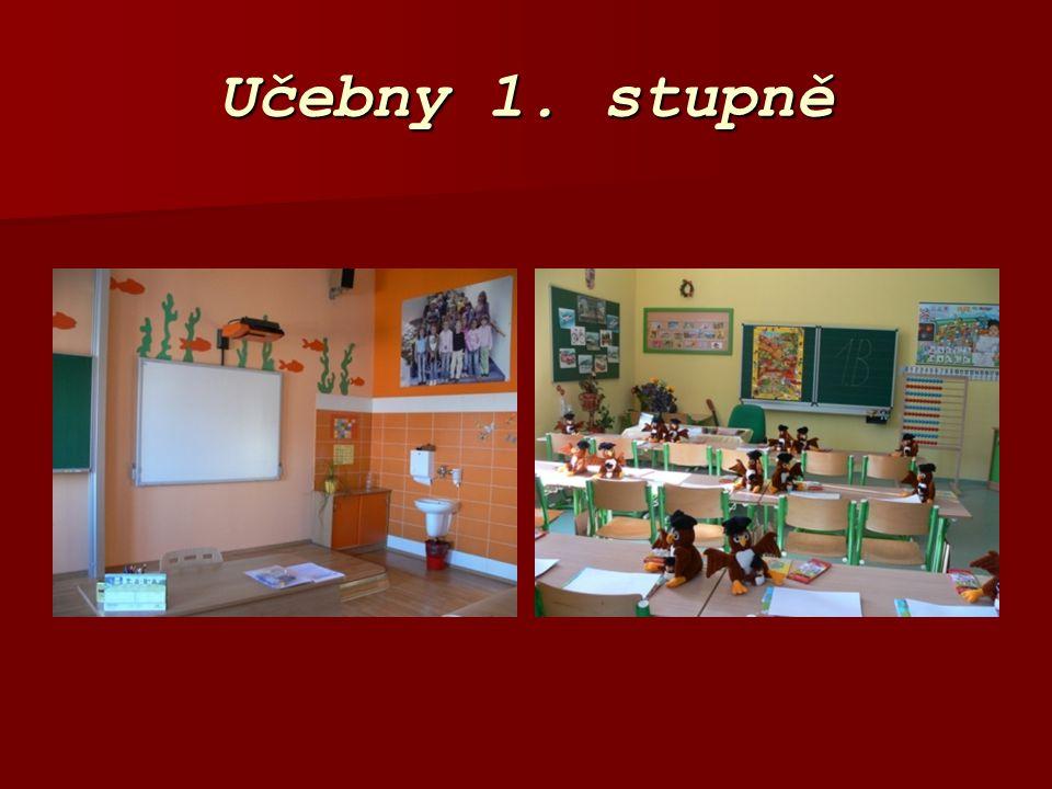 Učebny 1. stupně