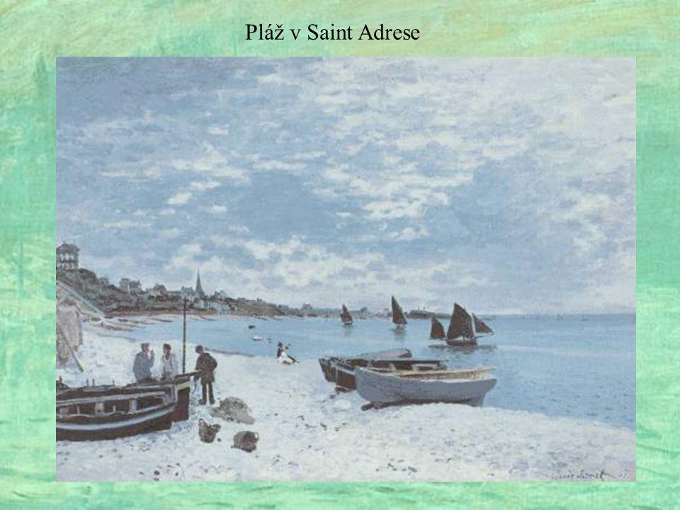 Pláž v Saint Adrese