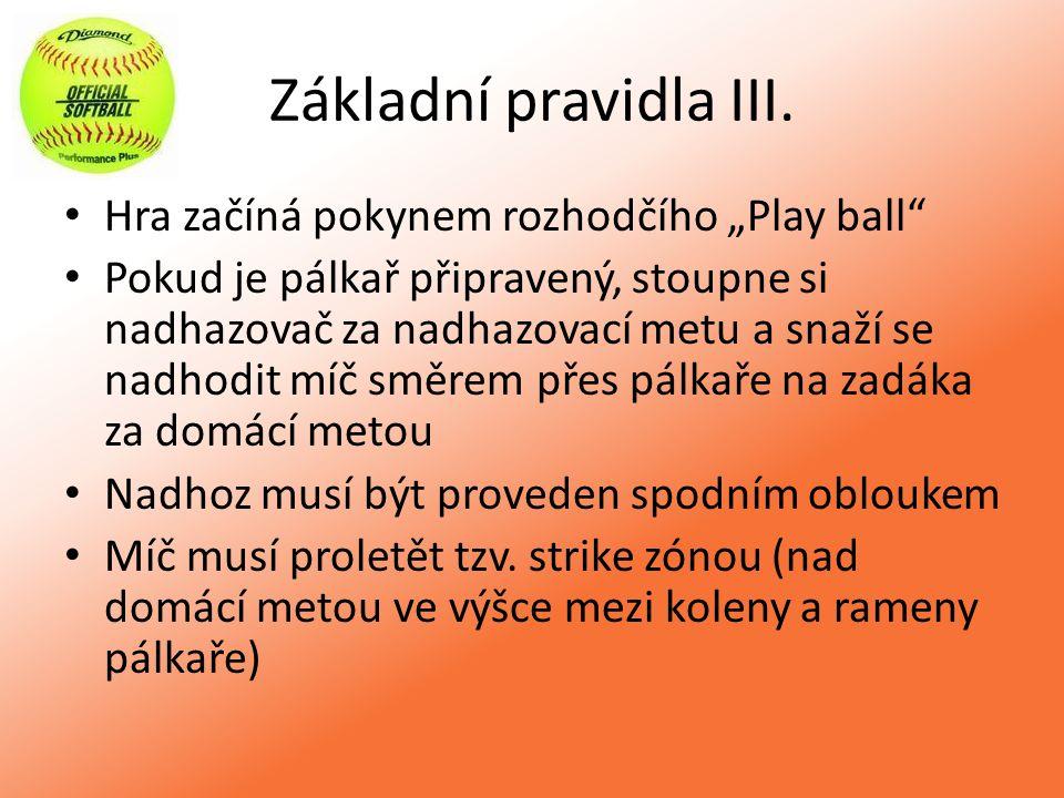 Základní pravidla IV.