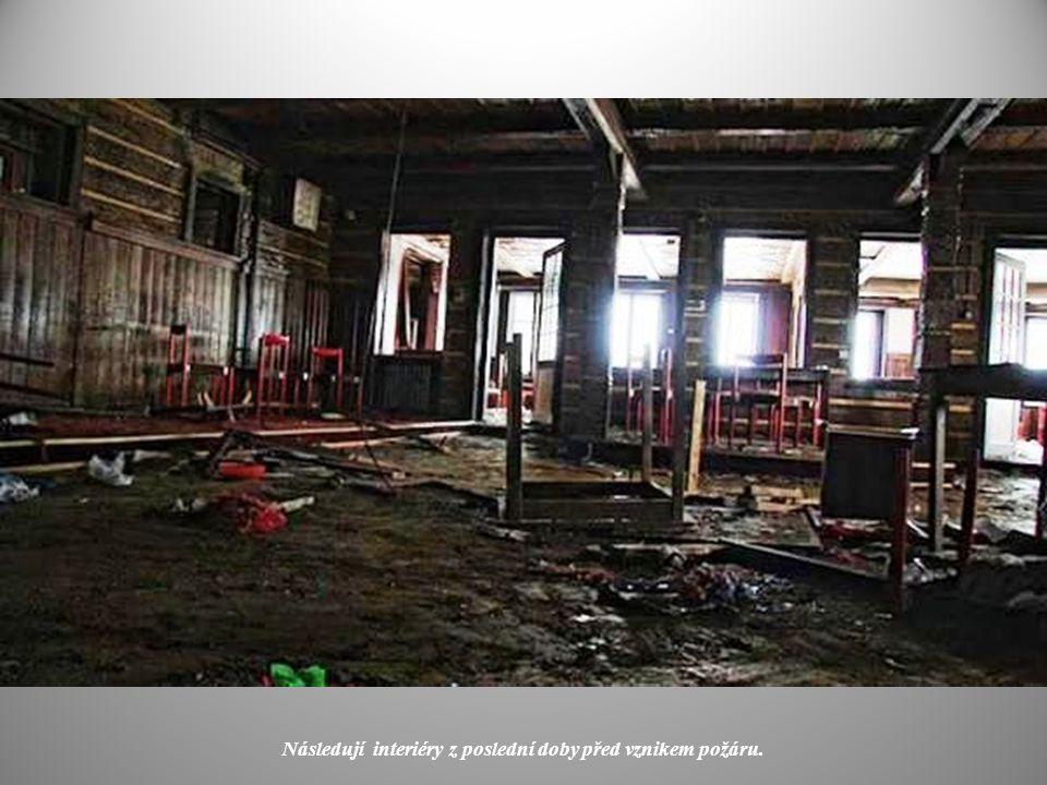 Petrova bouda v červenci 2011, pouhých 10 dní před zánikem.