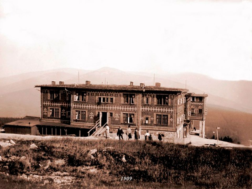 Stav okolo roku 1900