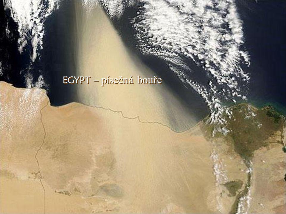 EGYPT – písečná bouře