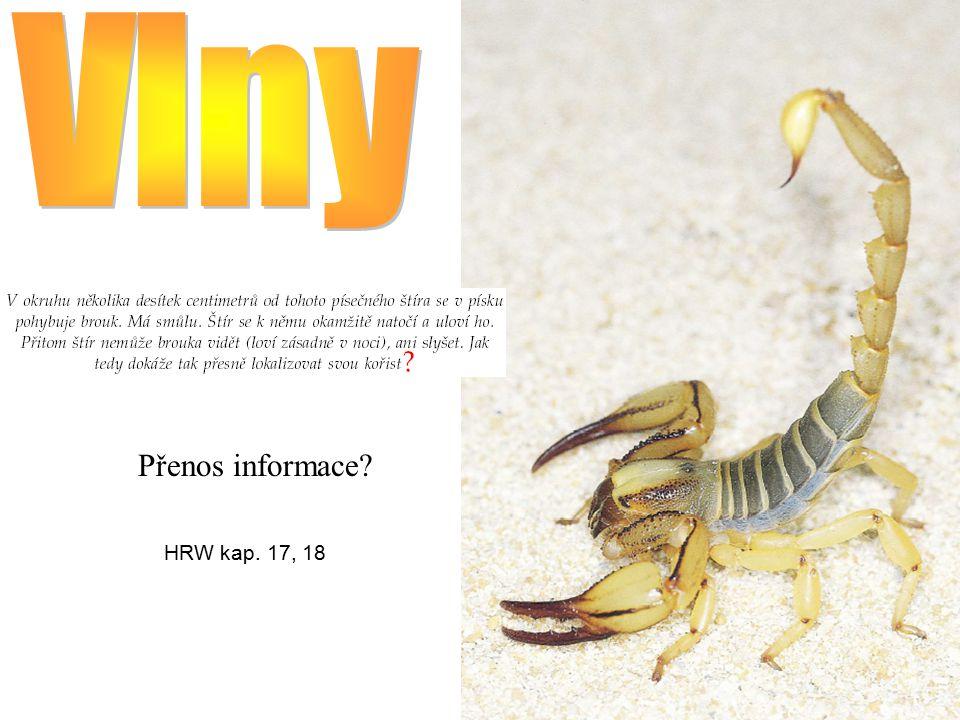 Přenos informace? HRW kap. 17, 18