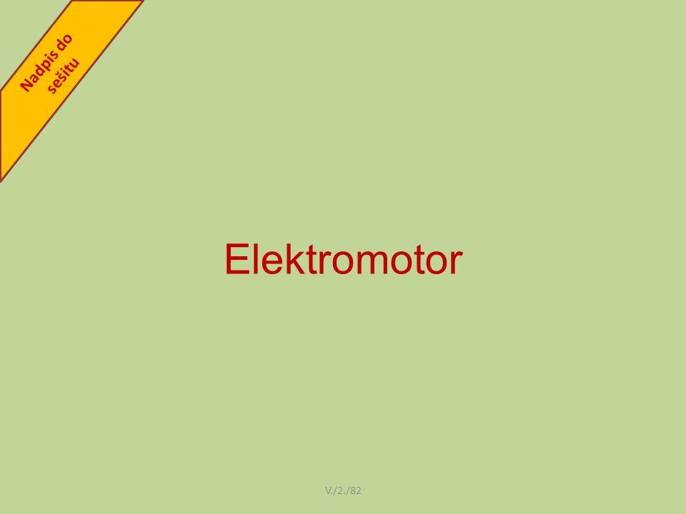 Elektromotor V./2./82