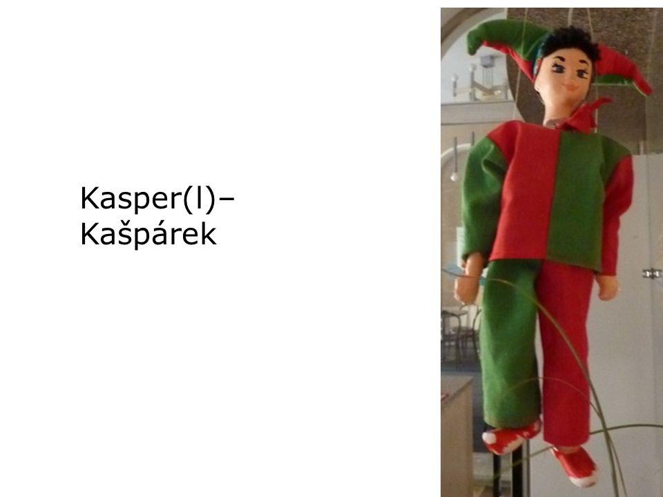 Kasper(l)– Kašpárek
