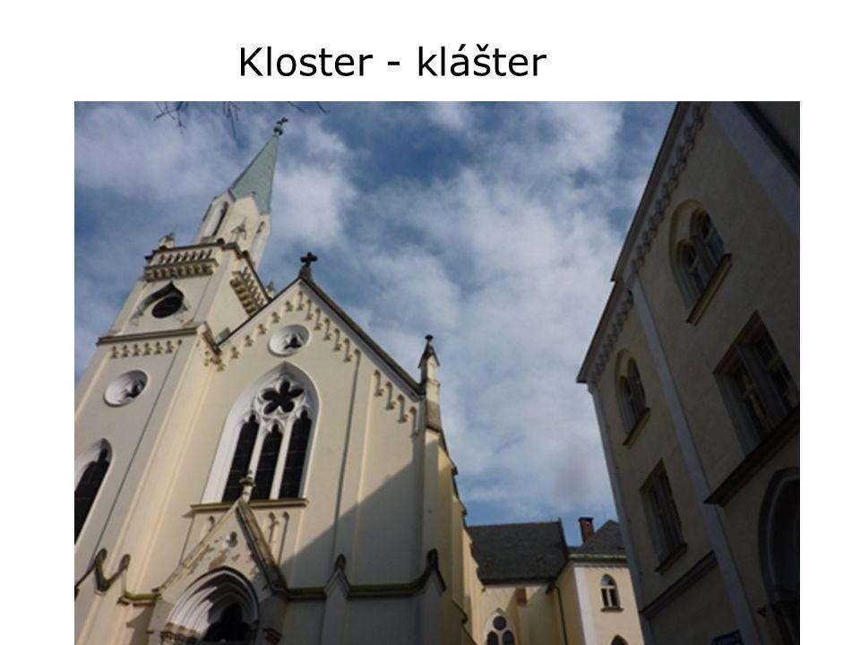Kloster - klášter