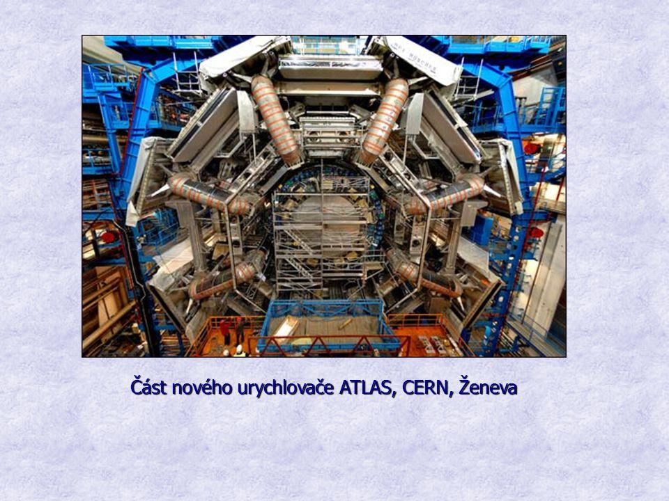 Část nového urychlovače ATLAS, CERN, Ženeva