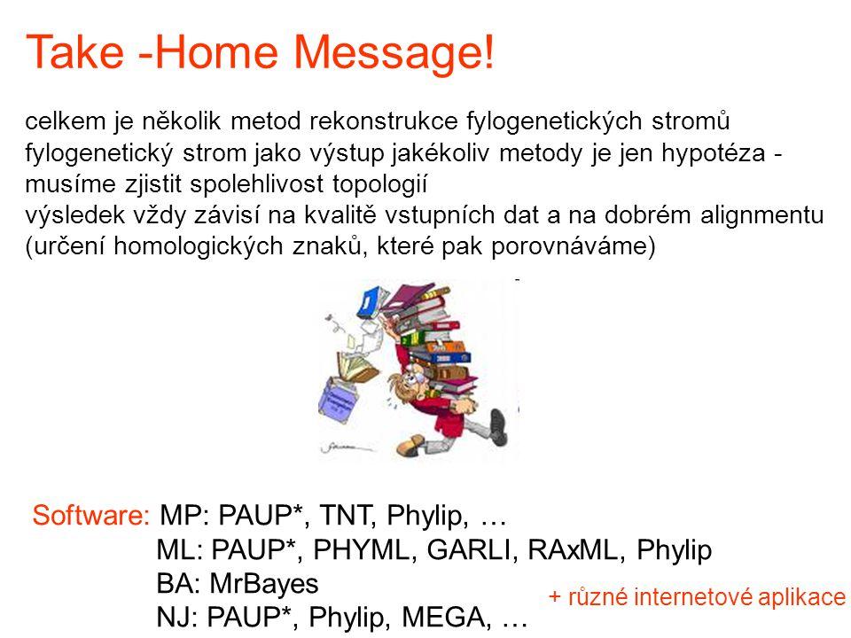 Take -Home Message.