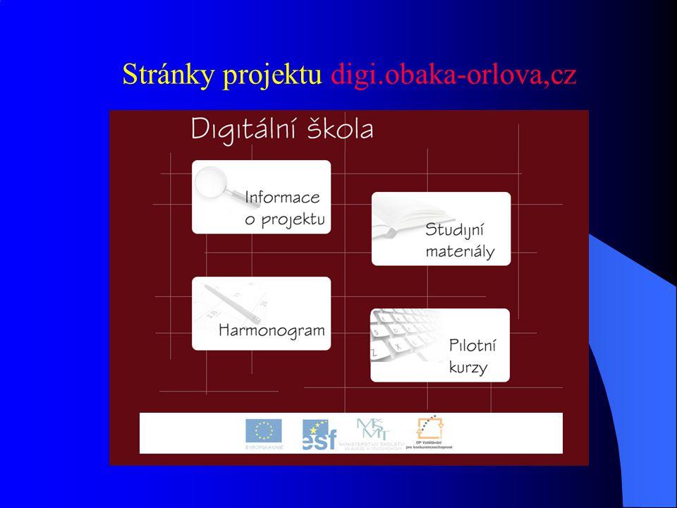 Stránky projektu digi.obaka-orlova,cz
