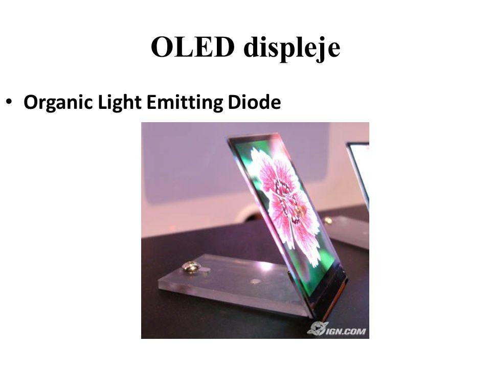 OLED displeje Organic Light Emitting Diode