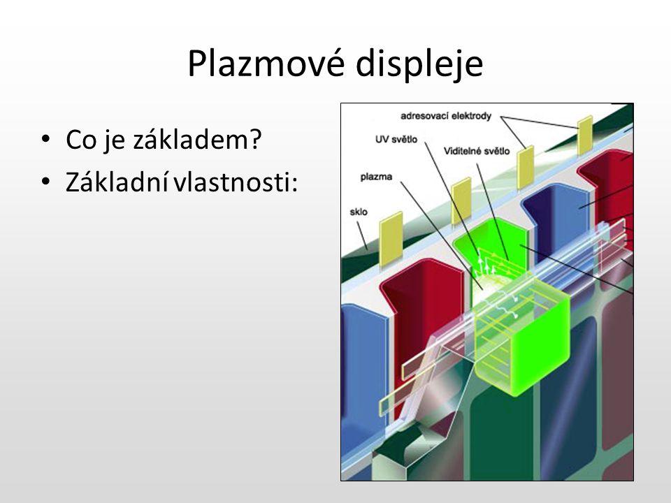 Princip plazmového displeje