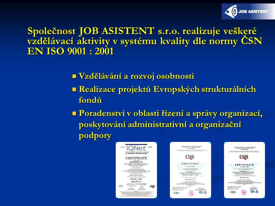 Společnost JOB ASISTENT s.r.o.