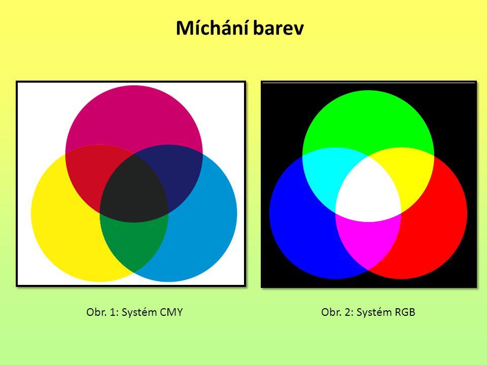 Obr. 1: Systém CMYObr. 2: Systém RGB