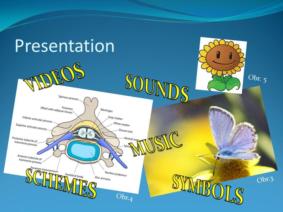 Presentation Obr.4 Obr. 5 Obr.3