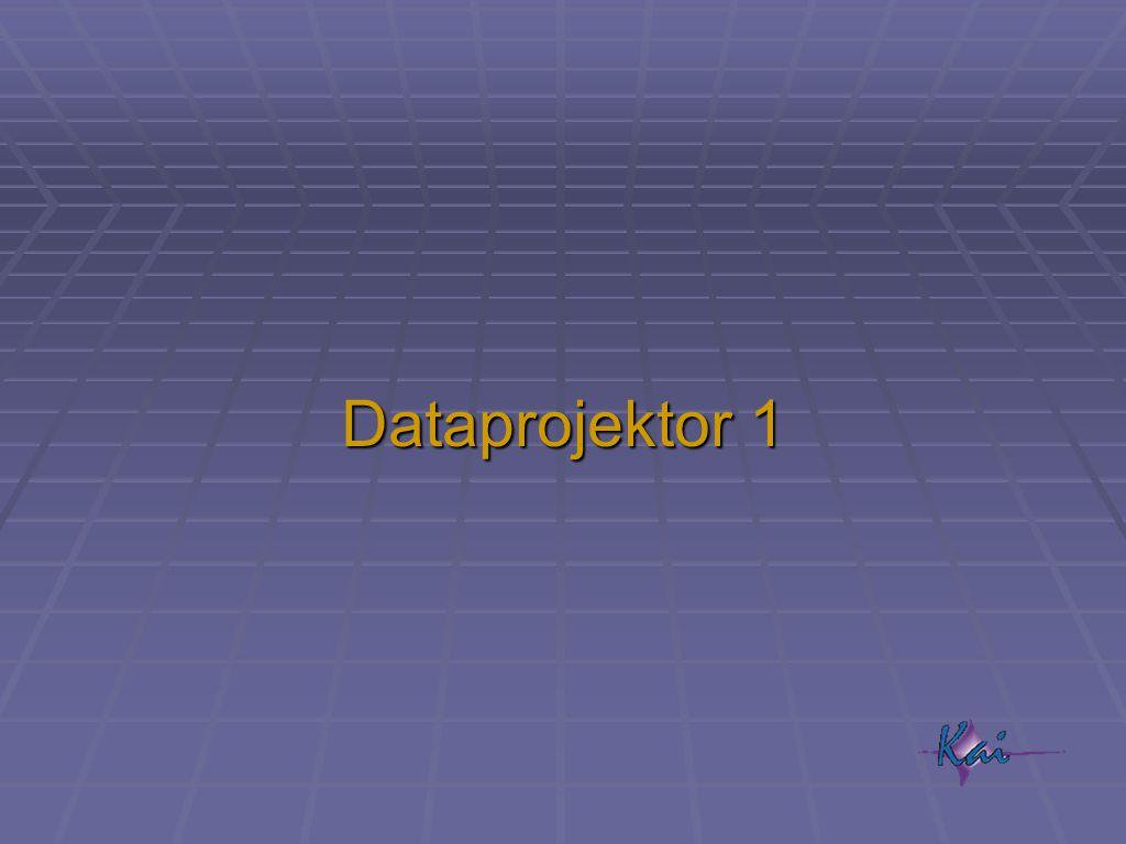 Dataprojektor 1