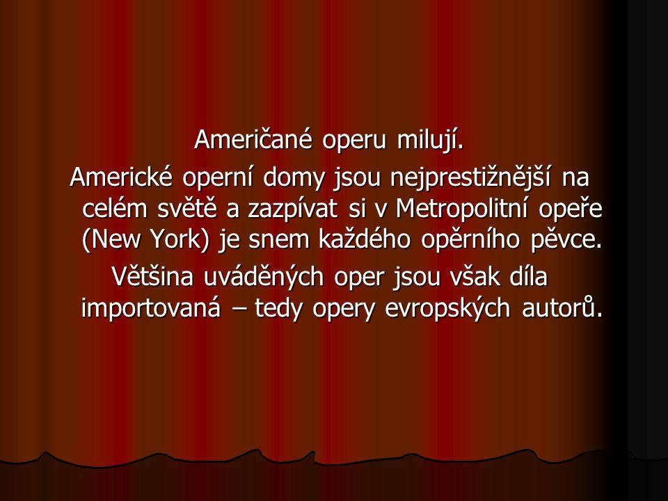 Americká opera