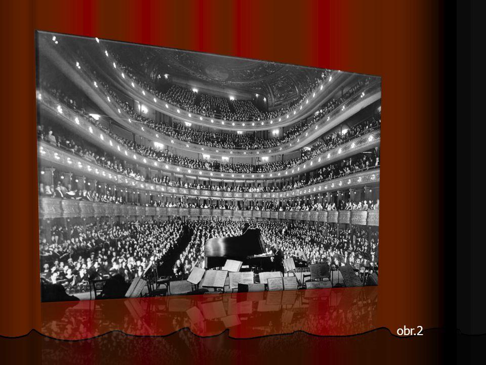 Metropolitní opera v New Yourku Metropolitní opera v New Yourku obr.1