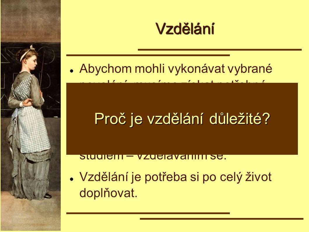 Česká vzdělávací soustava Předškolní vzdělávaní zabezpečují ho mateřské školy určeno pro děti ve věku 3–6 let docházka není povinná Je podle vás předškolní vzdělávání důležité.