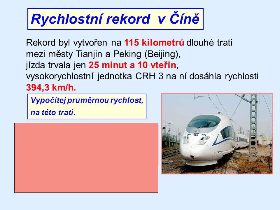 Nejrychlejší vlak v Česku 18.