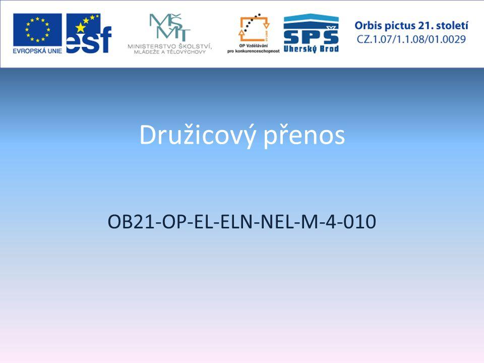 Družicový přenos OB21-OP-EL-ELN-NEL-M-4-010