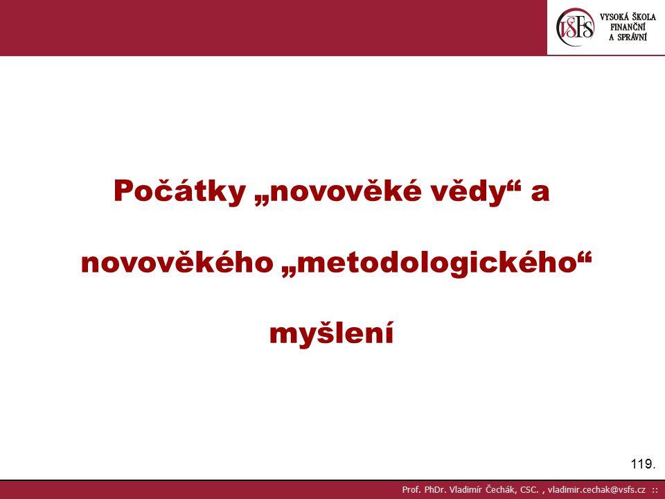 119.Prof. PhDr.